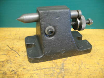 Tail Stock Foot Stock 3-14 Center Height 1-12travel Indexer Dividing Head