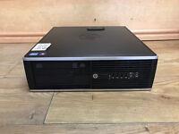 HP Compaq 8300 Elite SFF Core i5-3470 3.2GHz Quad 8GB RAM 500GB HDD Win 7 PC
