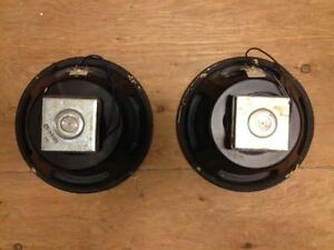 "Pair of 10"" Speakers"