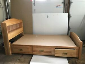 Mates Bed Twin size (mattress not included)