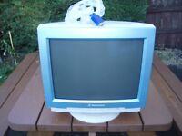 "Packard Bell Imedia 15"" Colour Desktop PC Computer Monitor & Stand"
