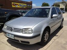 2000 Volkswagen Golf GL Rally Silver 5 Speed Manual Sedan Williamstown North Hobsons Bay Area Preview