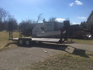 Fifth Wheel Car Trailer