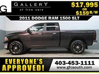 2011 DODGE RAM SLT CREW *EVERYONE APPROVED* $0 DOWN $159/BW!