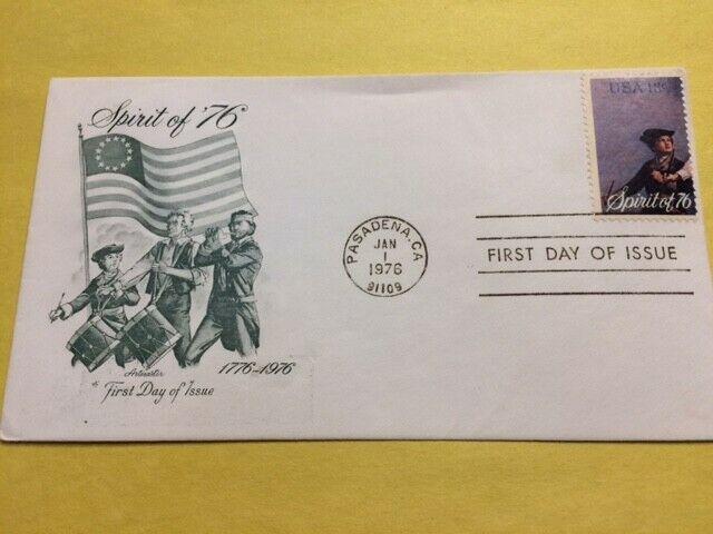 1629 13c Declaration Of Independence FDC Spirit Of 76 Artmaster 1976 - $1.11