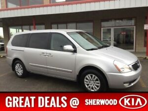 2014 Kia Sedona LX Accident Free,  3rd Row,  Bluetooth,  A/C,  A