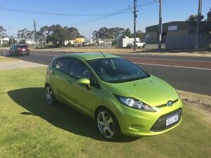 2009 Ford Fiesta WS CL Green 4 Speed Automatic Hatchback Wangara Wanneroo Area Preview