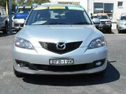 2007 Mazda 3 BK MY06 Upgrade Maxx Sport Silver 4 Speed Auto Activematic Hatchback Tuggerah Wyong Area Preview