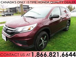 2015 Honda CR-V LX | 1 OWNER | ALL WHEEL DRIVE | NO ACCIDENTS