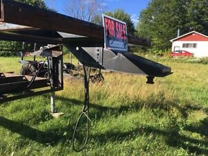 Fifth Wheel UtilityTrailer with Hitch