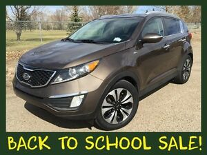 2012 Kia Sportage SX-Premium  **LEATHER-NAV-SUNROOF**