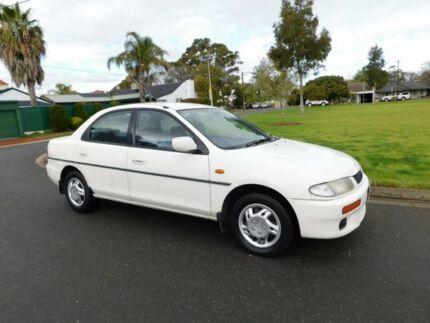 1995 Mazda 323 BA1161 Protege White 4 Speed Automatic Sedan Somerton Park Holdfast Bay Preview
