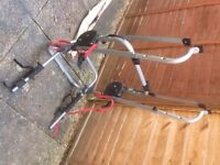 Metal Clamp High 3 Bike Carrier with 4 fitting kits