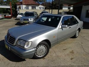 1995 Mercedes-Benz S280 W140 Silver 4 Speed Automatic Sedan Sylvania Sutherland Area Preview