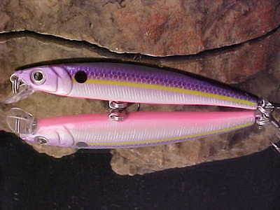 """Challenger 3 1//2/"""" Jointed Jr Minnow MG008F-046 in BLK//GLD//ORG for Bass//Walleye"""