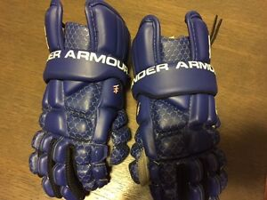 Under Armour Lacrosse Gloves - youth small