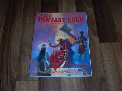 Steve Jackson`s:  GURPS FANTASY FOLK / fantastic Races