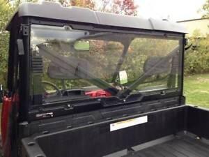 Polaris Ranger XP 900 Rear Crew Window / Cab Back