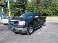 2009 GMC SIERRA WT EXT CAB 4X4...LOADED!! 6 PASSENGER SEATING!!