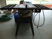 SEARS CRAFSTMAN TABLE SAW