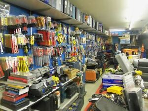 Tools galore, wrenches, sockets, hammers, air tools etc.