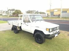 1991 Toyota Landcruiser HZJ75RP 220000km White 5 Speed Manual 4x4 Utility Wangara Wanneroo Area Preview
