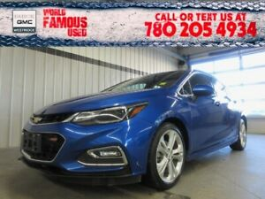 2018 Chevrolet Cruze Premier. Text 780-205-4934 for more informa