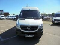 Mercedes-Benz Sprinter 313 LWB H/R EURO 5 DIESEL MANUAL WHITE (2014)