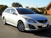 2010 Mazda 6 GH1052 MY10 Classic Silver 5 Speed Sports Automatic Wagon Chermside Brisbane North East Preview