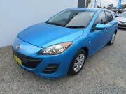 2009 Mazda 3 BL10F1 Neo Blue 6 Speed Manual Hatchback Glendale Lake Macquarie Area Preview