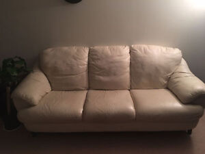 MOVING SALE TODAY JULY 19 BONDED LEATHER SOFA $199