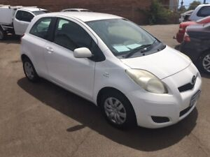 2009 TOYOTA YARIS YR 1.3LTR 4-CYL AUTOMATIC 3 DOOR HATCH ( GREAT VALUE IDEAL DELIVERY UNIT )  Bayswater Bayswater Area Preview
