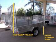 NEW 2019 GAL 8X5 BOX TRAILER WITH 1.6M RAMP TIPPER CAGE JOCKEY Newcastle Newcastle Area Preview