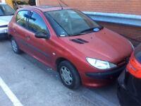 PEUGEOT 206 1.1 STYLE PETROL MANUAL 5 DOOR HATCHBACK 5 SEAT MOT CHEAP INSURANCE N CORSA CLIO POLO KA