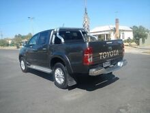 2015 Toyota Hilux KUN26R MY14 SR5 Double Cab Grey 5 Speed Automatic Utility Young Young Area Preview