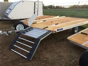 12' MISSION OPEN SNOW TRAILER