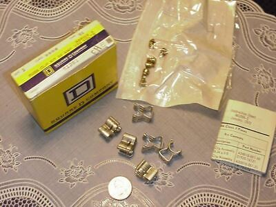 Square D 9999 S1 Fuse Clip Kit 30 Amp 250 Volt Series A New In Box
