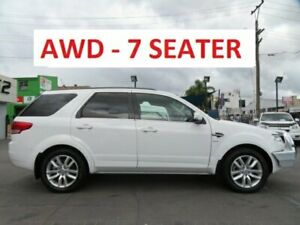 2016 Ford Territory SZ MK2 TS (4x4) White 6 Speed Automatic Wagon Granville Parramatta Area Preview