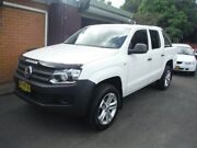 2013 Volkswagen Amarok 2H MY13 TDI420 (4x4) White 8 Speed Automatic Dual Cab Utility East Lismore Lismore Area Preview