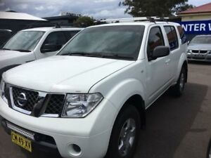 2008 Nissan Pathfinder R51 ST White Sports Automatic Wagon