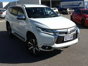 2017 Mitsubishi Pajero Sport QE MY17 GLX White 8 Speed Sports Automatic Wagon Rockingham Rockingham Area Preview