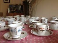 Wedding Tea Set, cup and saucer - mismatched over 250+ itema