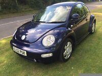 2002 Volkswagen Beetle 1.8t 12 months mot