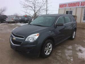 2011 CHEVROLET EQUINOX LS - 4 CYLINDER - 6 SPEED AUTOMATIC