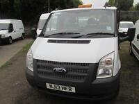 Ford Transit 350 MWB S/Cab Tipper Tdci 100Ps [Drw] Euro 5 DIESEL MANUAL (2013)