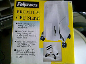 PC stand with wheels Strathcona County Edmonton Area image 1