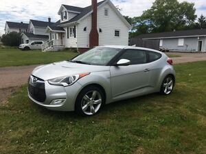 2013 HYUNDAI VELOSTER – 6 Speed