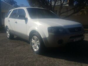 2006 Ford Territory SY TX White 4 Speed Sports Automatic Wagon Blair Athol Port Adelaide Area Preview
