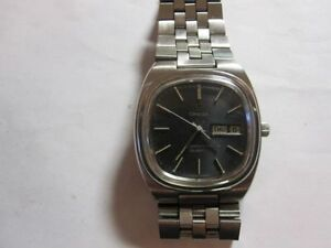 70s Omega Seamaster Quartz Cal 1345 Day Date SS rare(sell/trade)