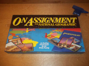 An exciting travel game around the world for the whole family.
